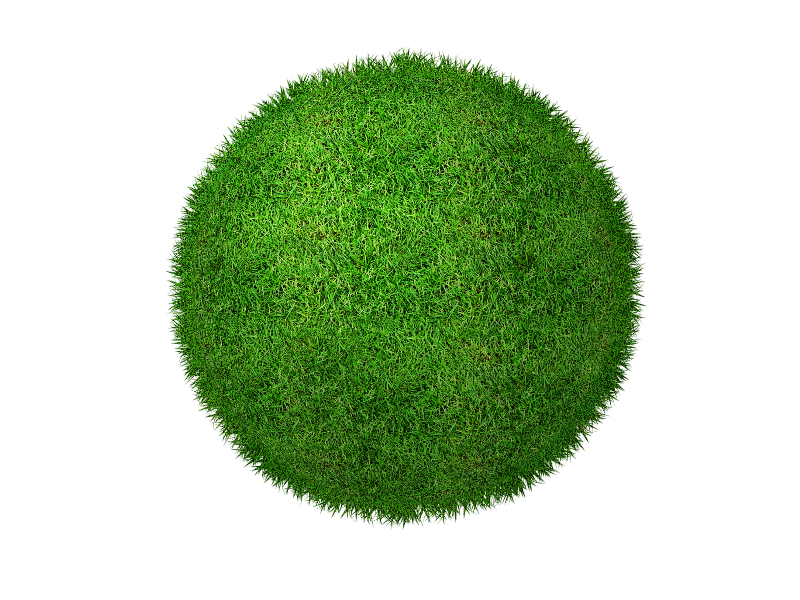 Green Grass Planet PNG