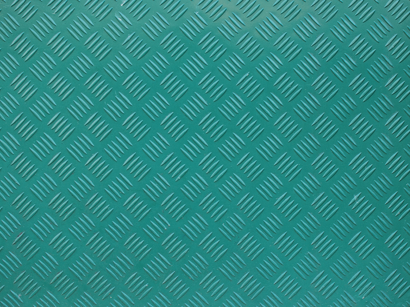 Green Painted Metal Texture With Crosshatch Pattern