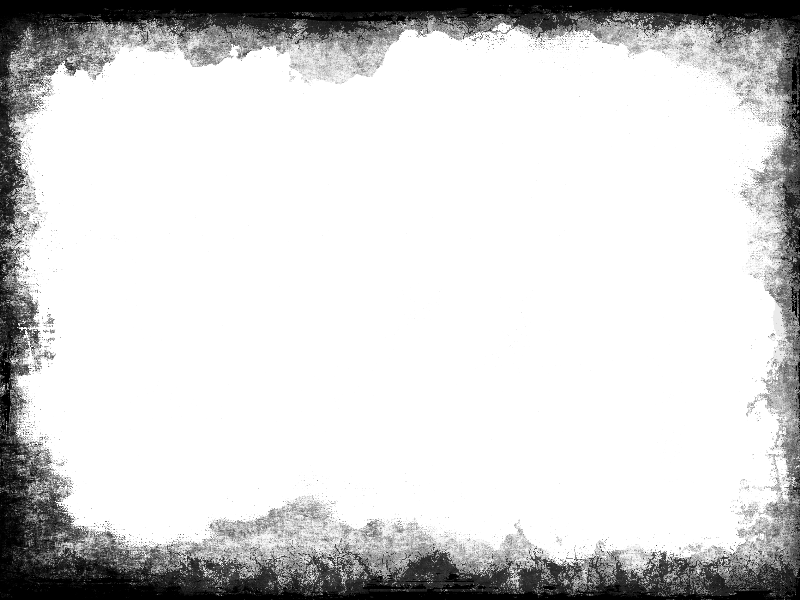 Grunge Vignette Border PNG Transparent For Photoshop