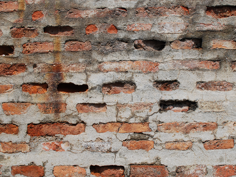 Grungy Staines Bricks Wall Texture Hi Res