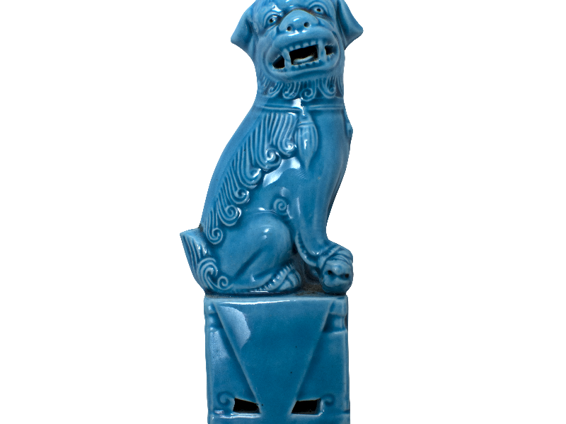 Guardian Lion Foo Dog Statue PNG