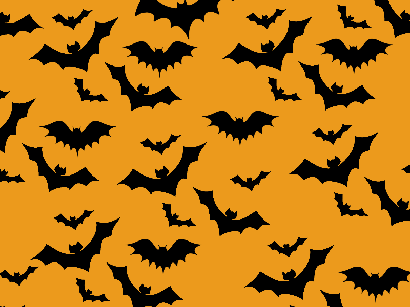 Halloween Bats Free Background Decor And Ornaments