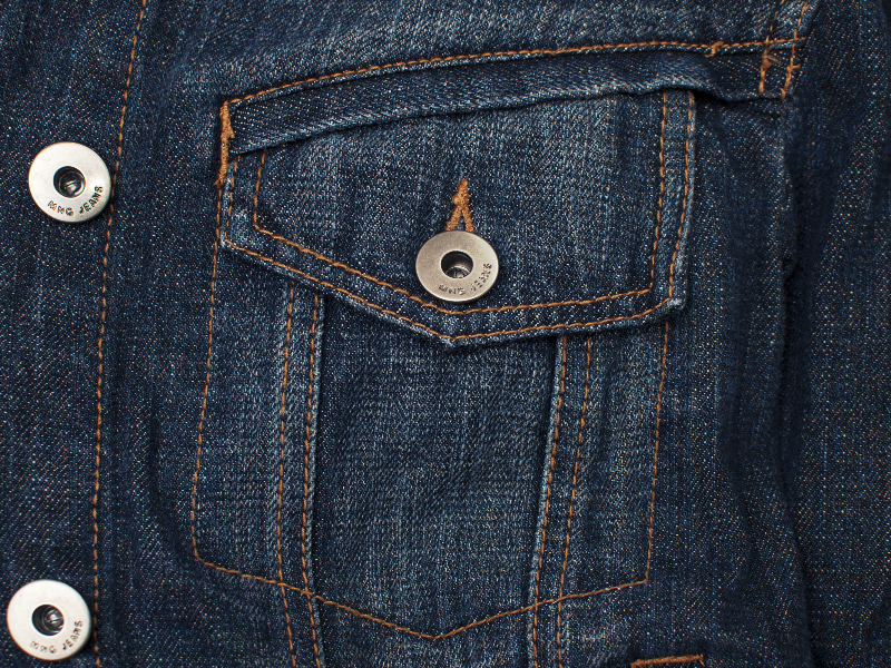 High Res Jeans Texture Pocket And Seams