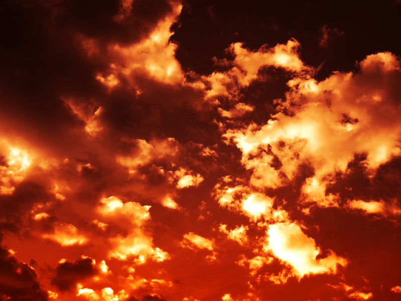 High Resolution Sunset Sky Background