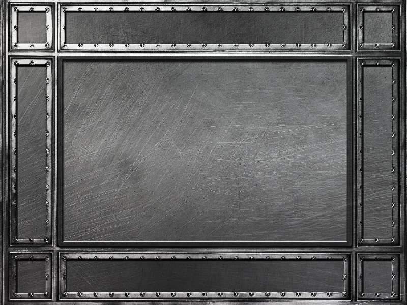 Iron Metal Frame Background Texture