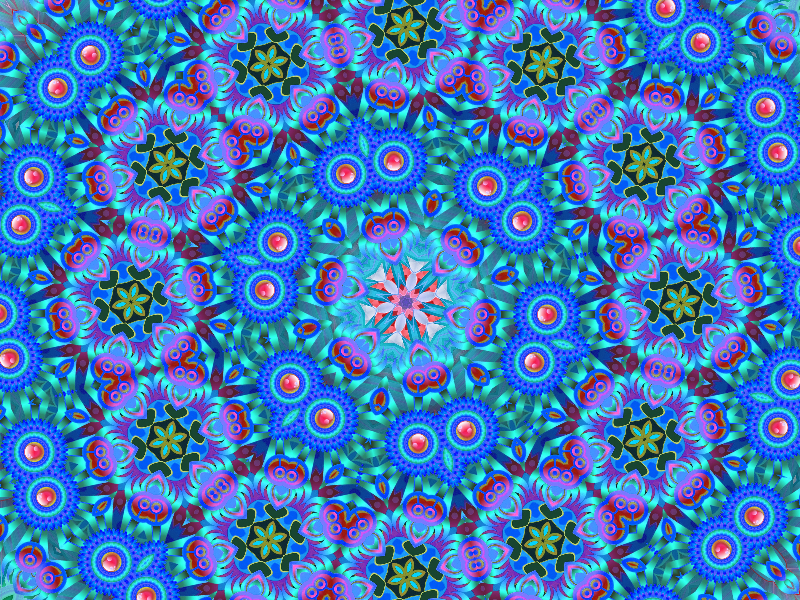 Kaleidoscope Pattern Background Free