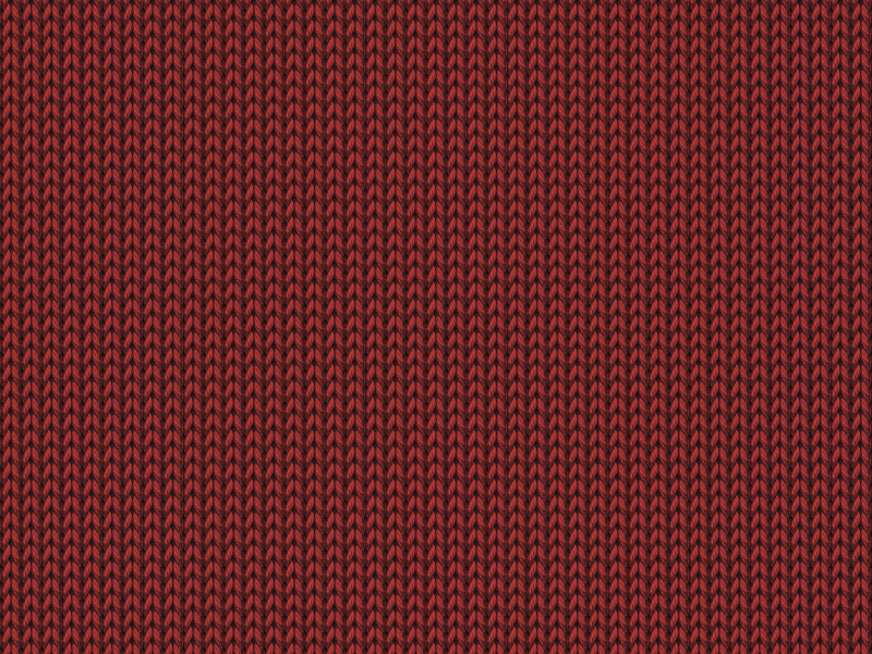 Knitted Red Fabric Texture Free Download