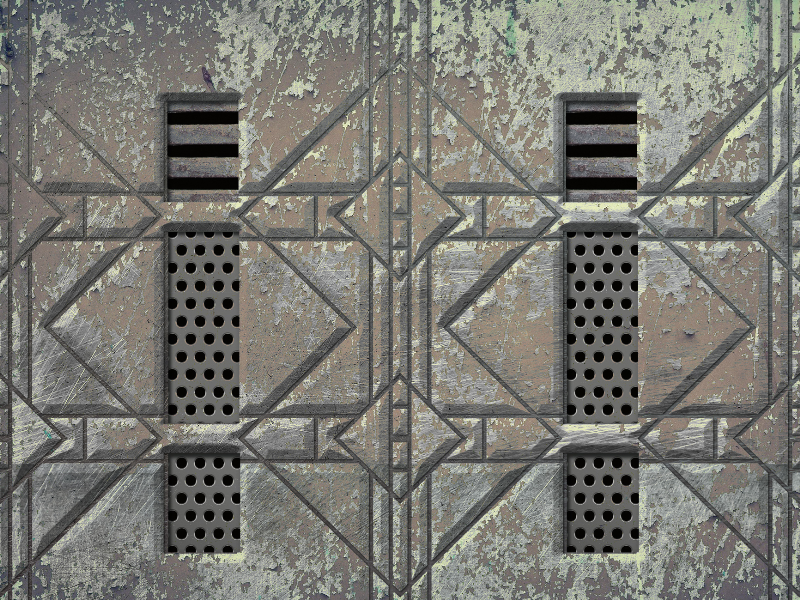 Metal Door Texture Seamless