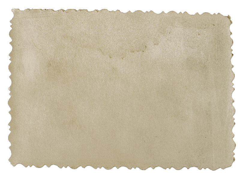 Old Blank Photograph PNG Image