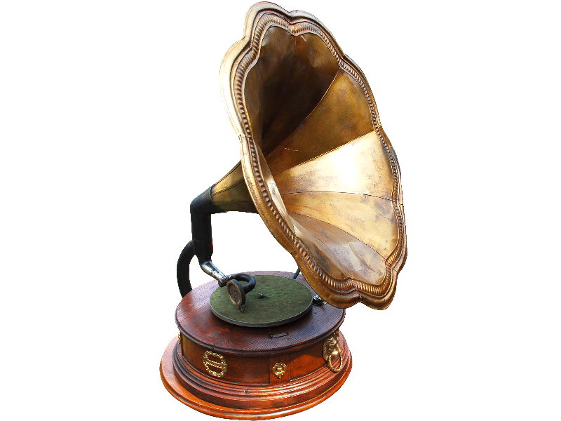 Old Gramophone PNG Image