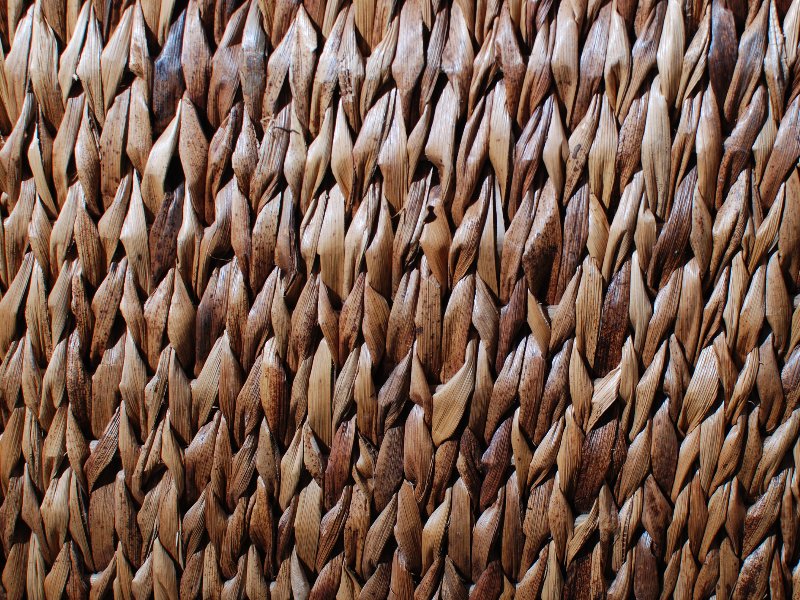 Old Rattan Texture Free