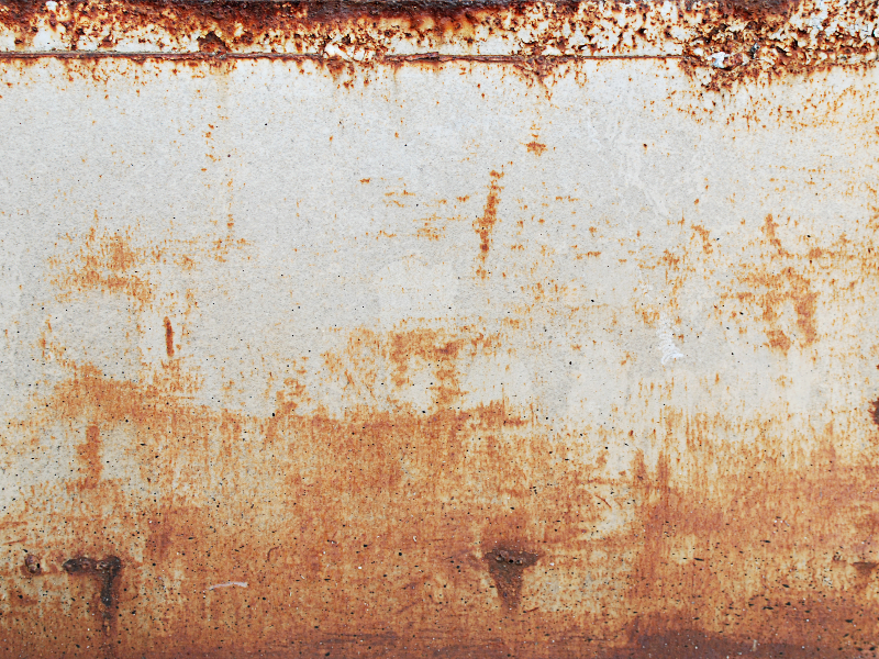 Rusty Metal Texture With Grunge Distressed Look Grunge