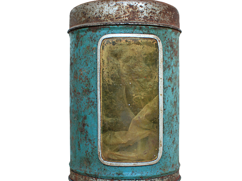Old Vintage Tin Can PNG