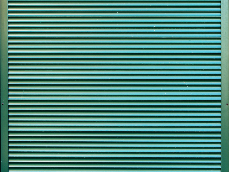 Painted Metal Window Blinds Texture