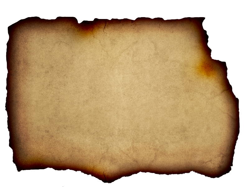 Parchment Background Free With Burnt Paper Edge