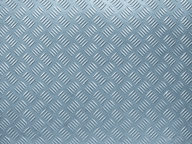 Patterned Aluminium Background Texture