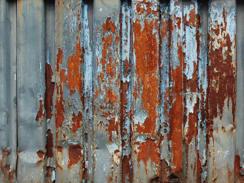 Peeled Rusty Metal Texture Free Grunge And Rust