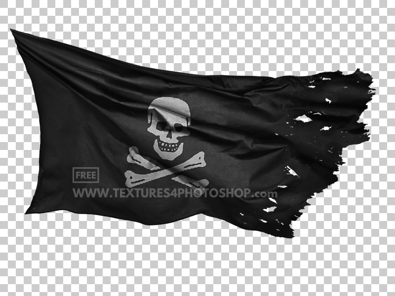 Pirate Flag PNG Image