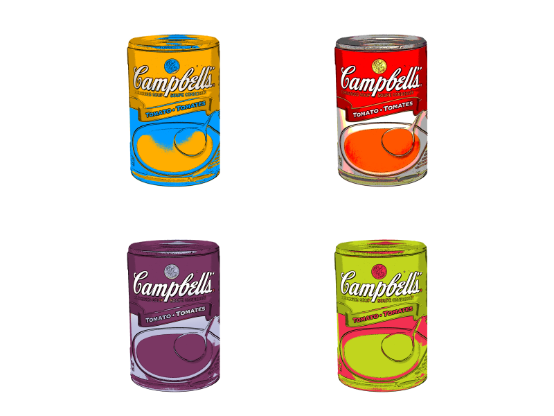 Pop Art Campbell Soup