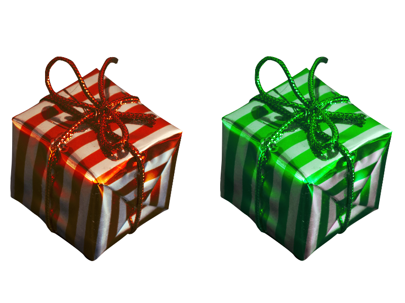 Present Gift Box PNG Free