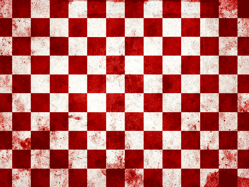 Red Checkered Pattern Texture