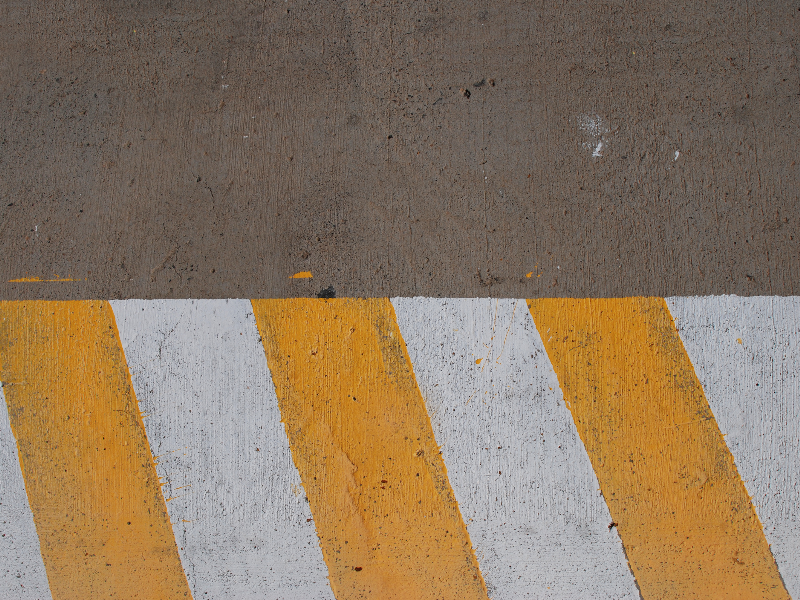Yellow Road Paint and Asphalt Texture for Free