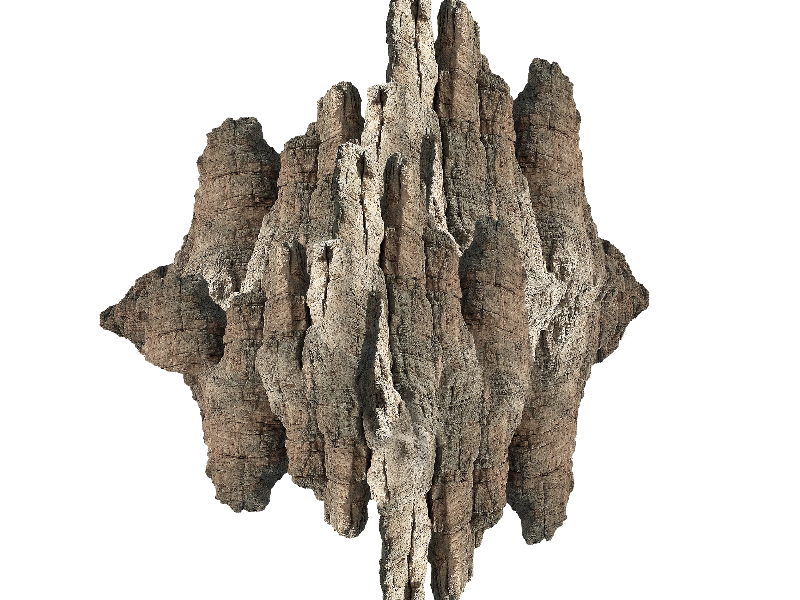 Rock Mountain PNG