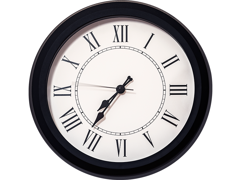 Free Wall Clock Picture PNG