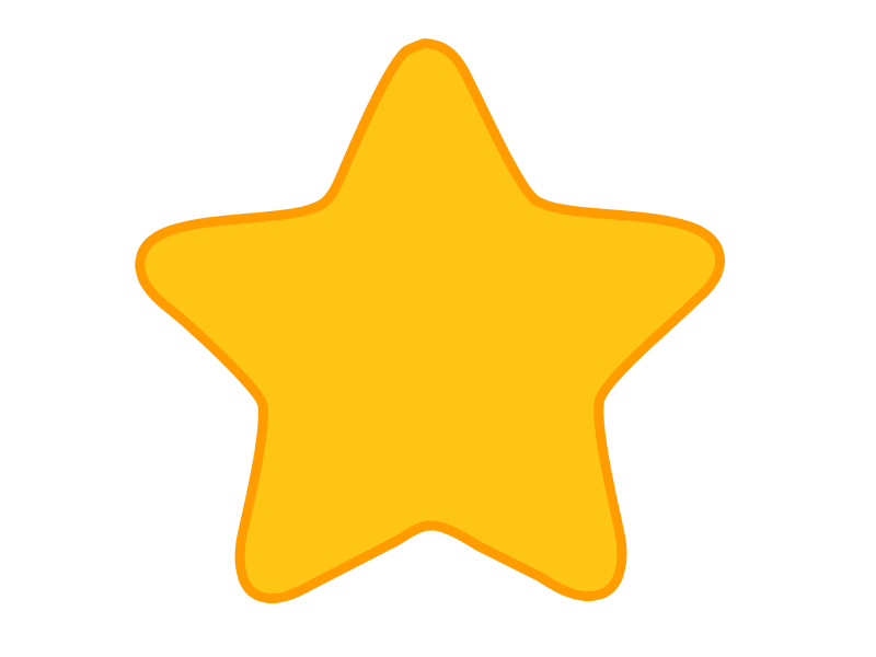 Rounded Edge Star