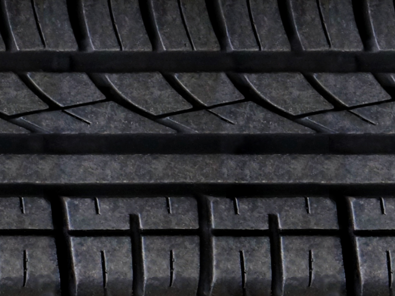 Rubber Car Tire Texture Seamless Free