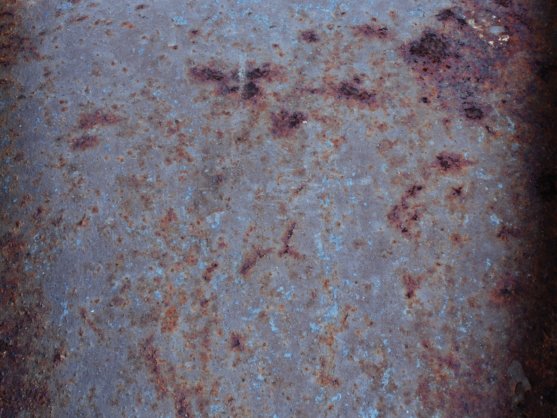 Rusty Metal Texture With Grunge Distressed Look