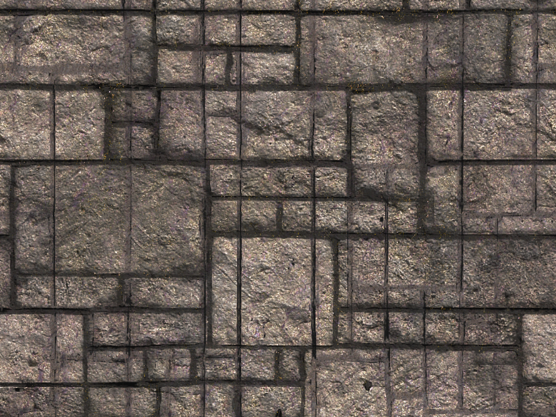 Seamless Brick Wall Game Texture Free