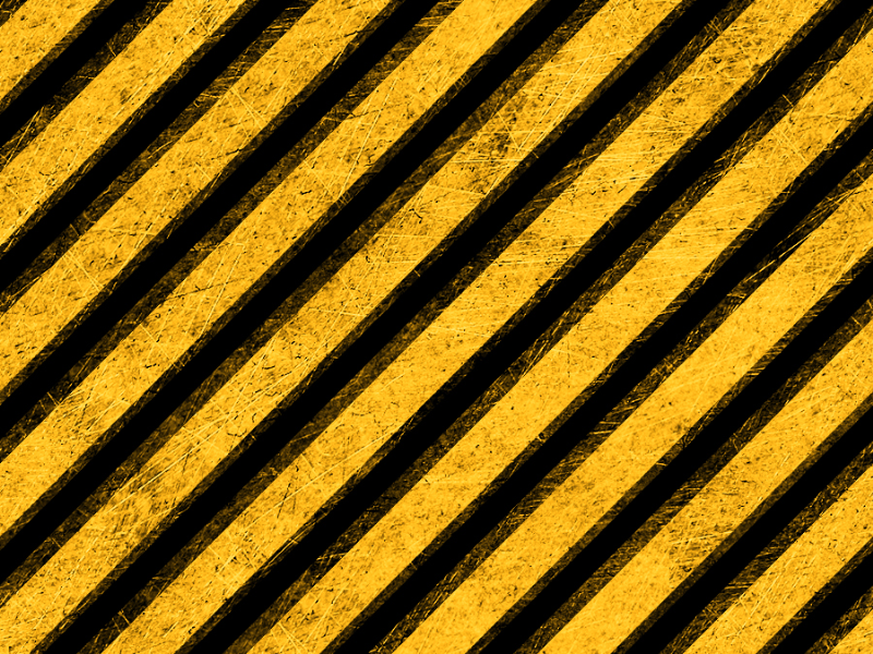 Seamless Grunge Hazard Yellow Stripes Texture