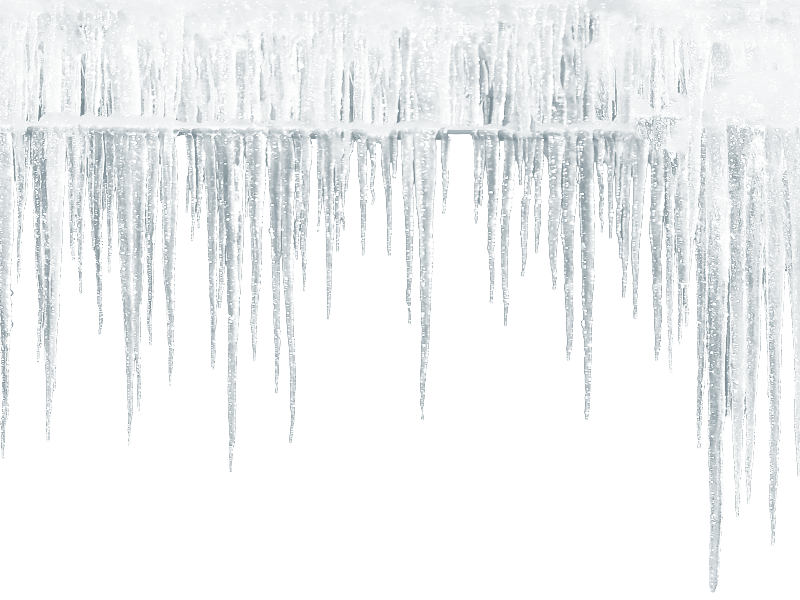 Seamless Icicle PNG Free
