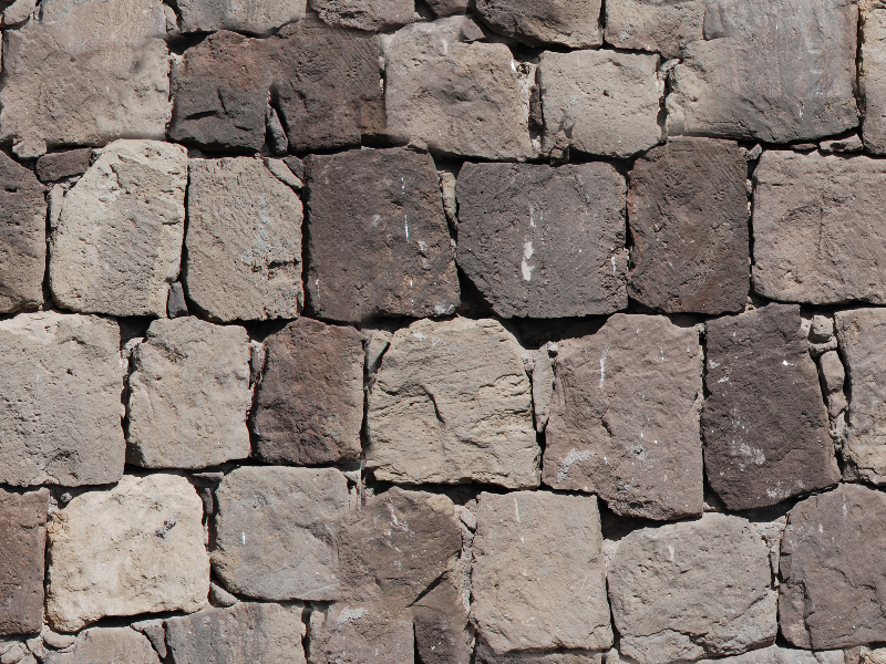 Seamless Medieval Stone Wall Texture Free