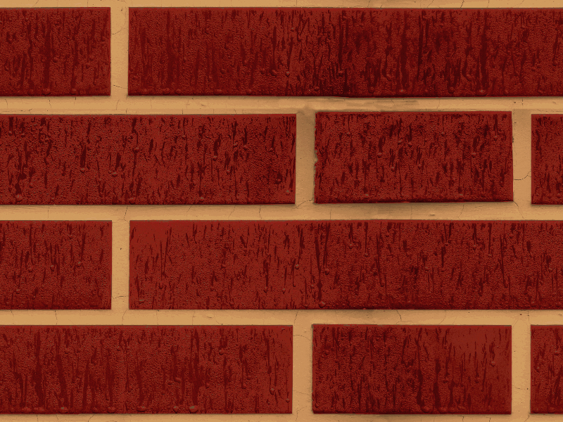 Seamless Red Brick Wall Texture text effect