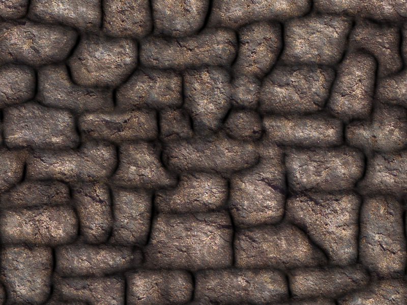 Seamless Rock Wall Game Texture Free Download (Stone-And ...
