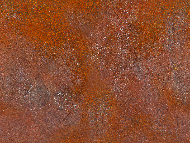 Seamless Rusty Metal Texture
