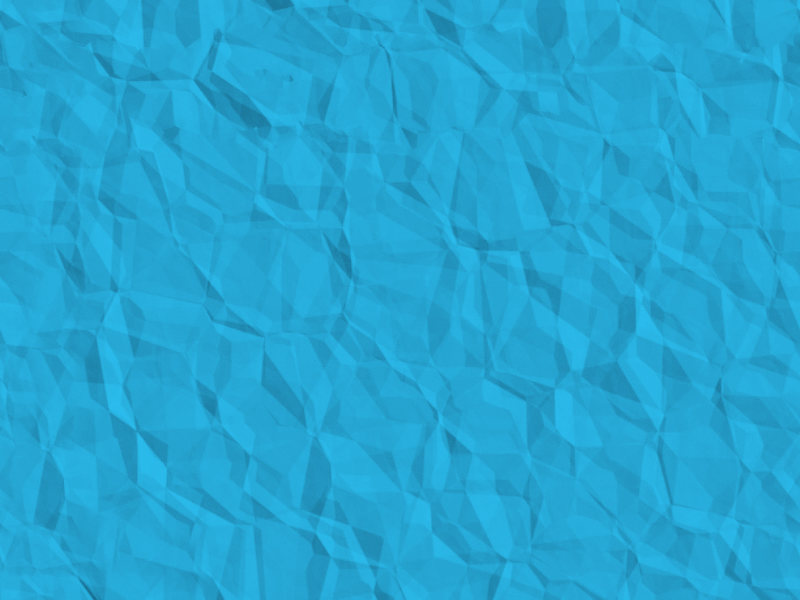 Seamless Texture Crumpled Paper With Blue Color