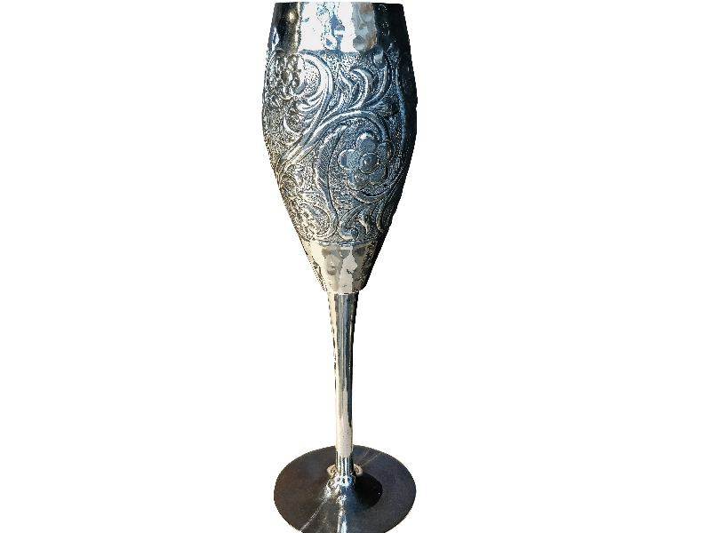 Silver Glass PNG