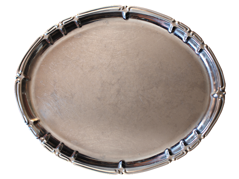 Silver Tray PNG