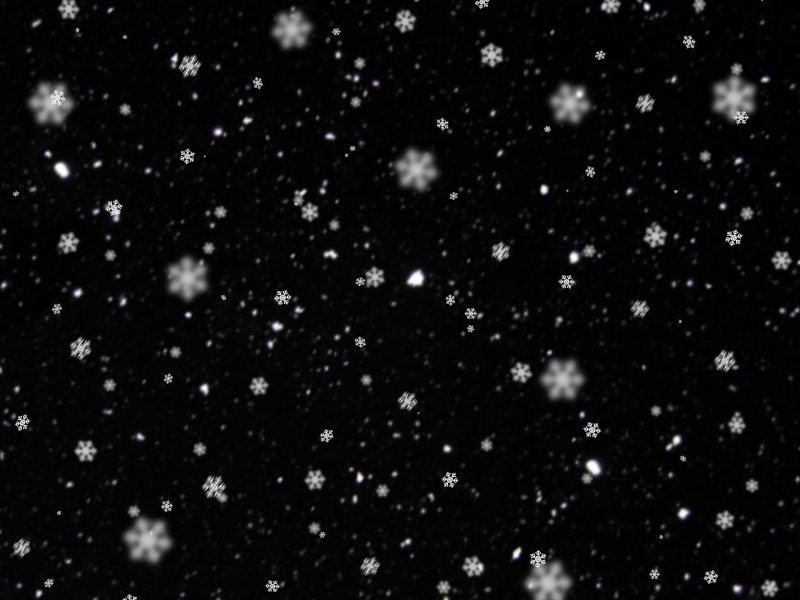 Snowing Texture With Big Snowflakes Free