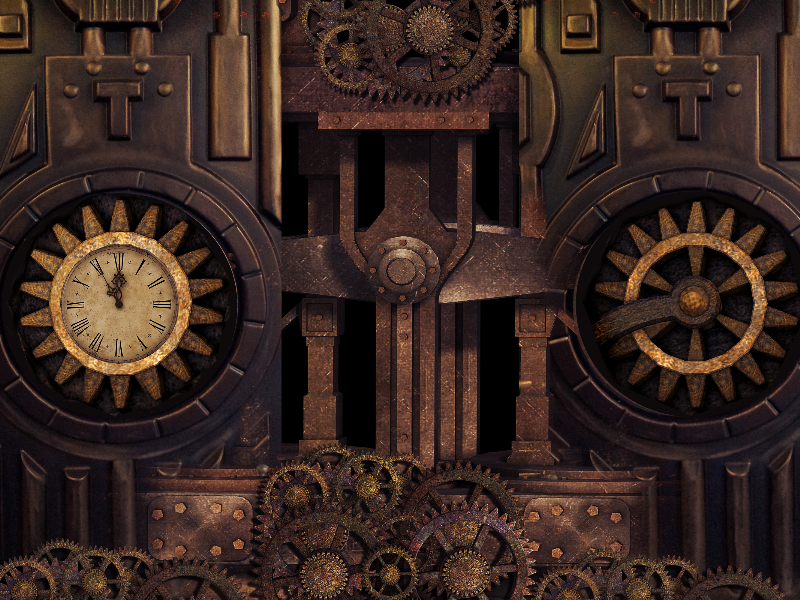 Steampunk Texture For Photoshop