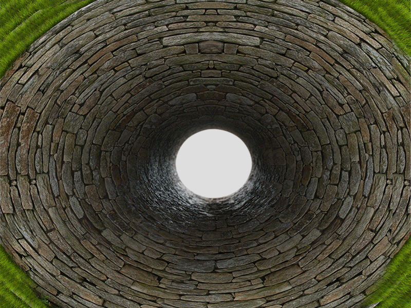 Stone Bricks Tunnel PNG