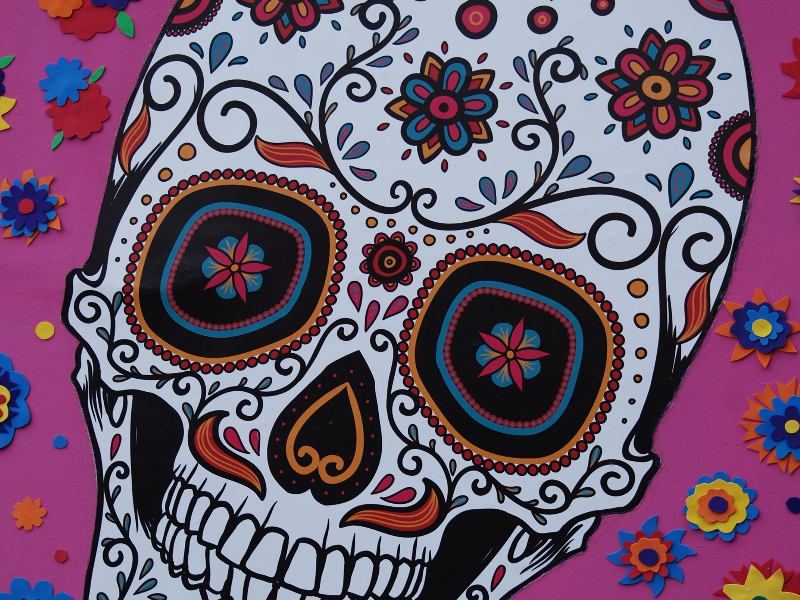 Sugar Candy Skull Texture Free