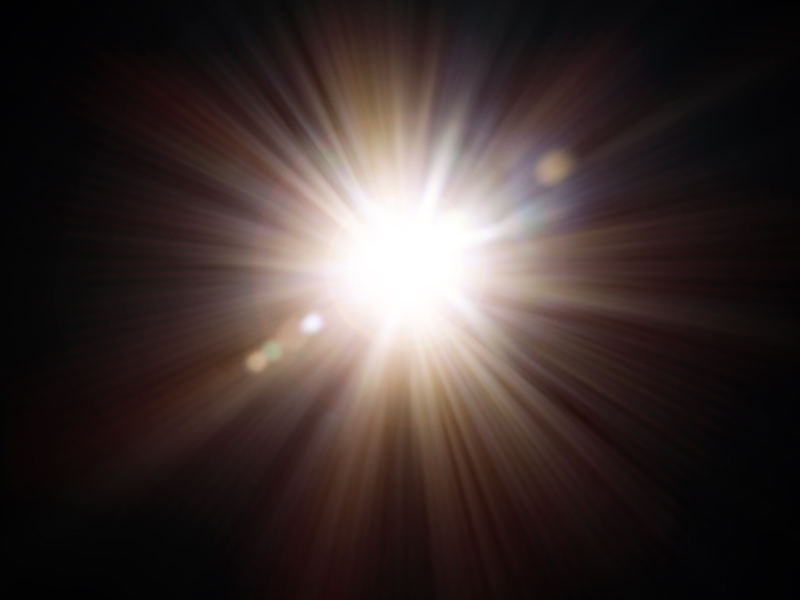 Sun Flare Texture Overlay Free Download