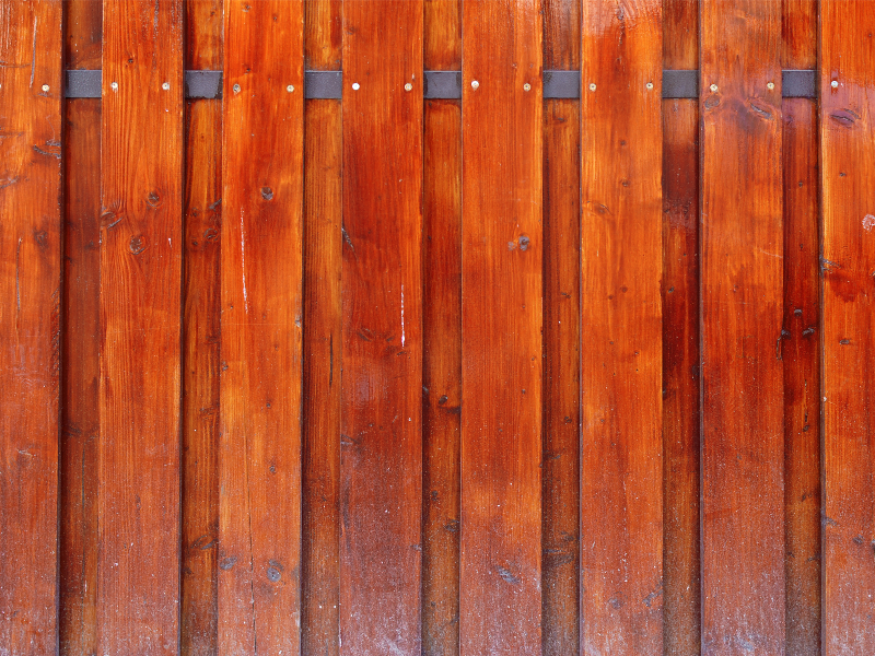 Varnished Wood Fence Texture Free
