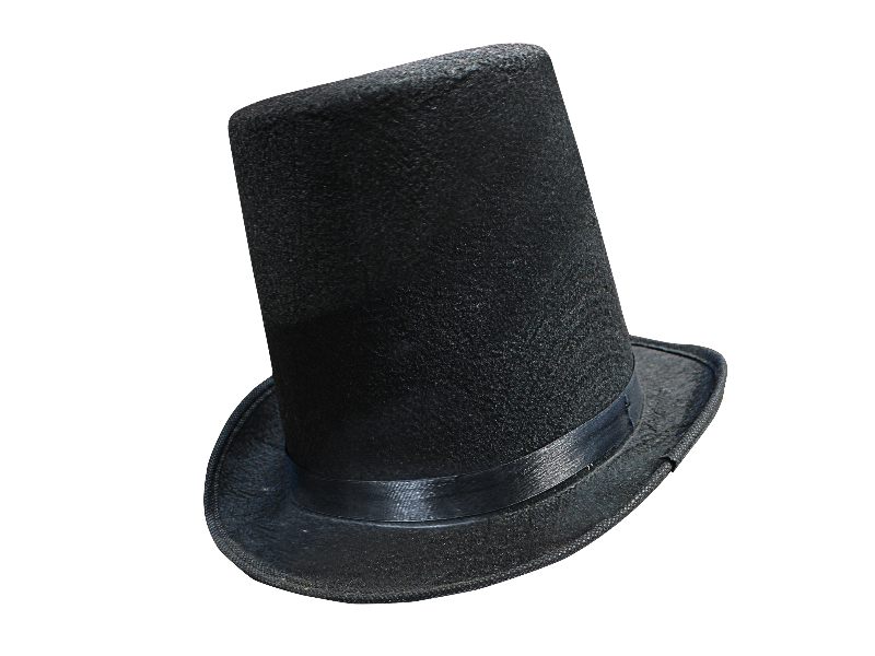 Victorian Tall Hat PNG