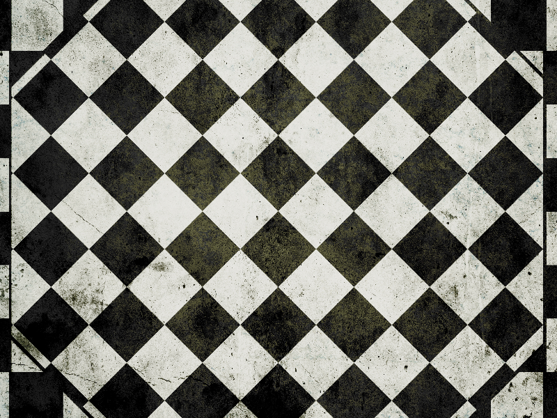 Vintage Checkered Pattern Texture