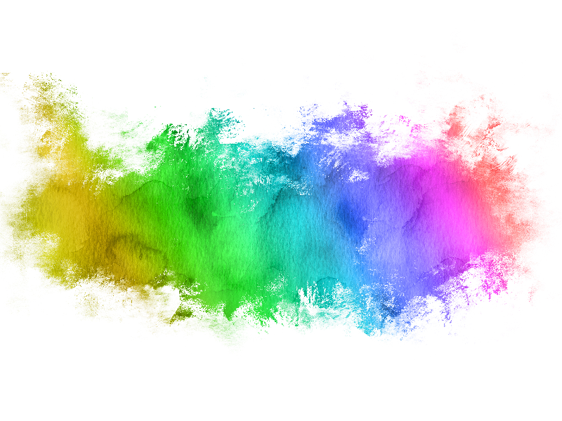 Watercolor Brush Paint Stain Texture For Photoshop